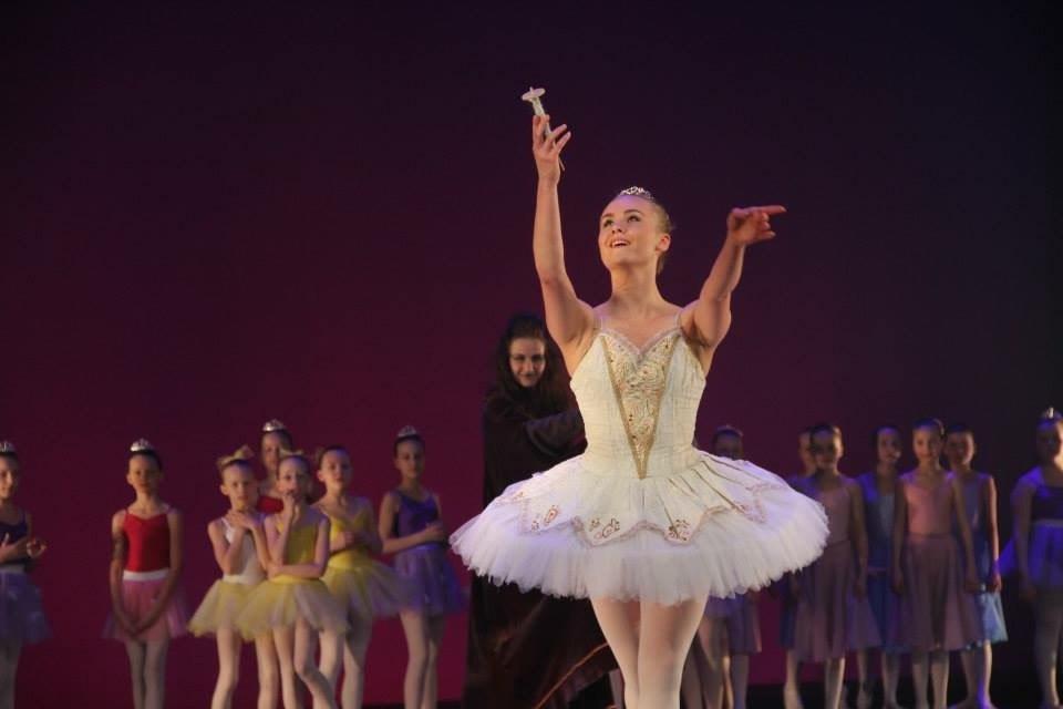 Ballettskóli Eddu Scheving, efsta stig