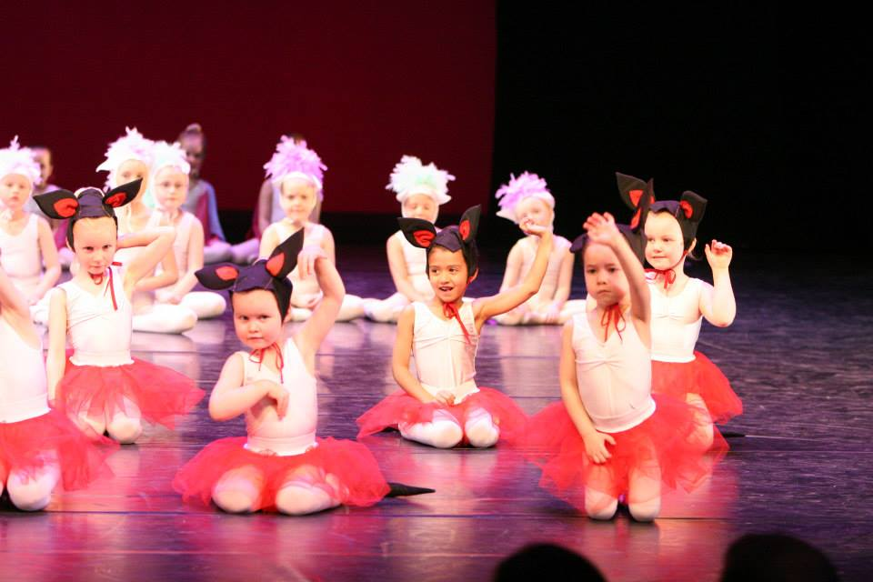 Ballettsýning yngri
