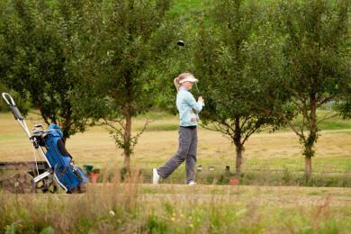 Golfklúbubr Kópavogs og Garðabæjar, golf, stelpa, unglingar