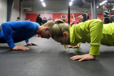 Crossfit sport, Sporthúsið, unglingaþjálfun