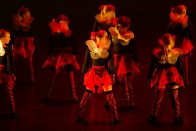 Dansrækt JSB, jazzballett