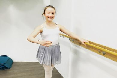 Plié listdansskóli, ballet 3. stig