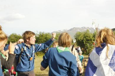 Skátafélagið Hamar, skátar, skátamót